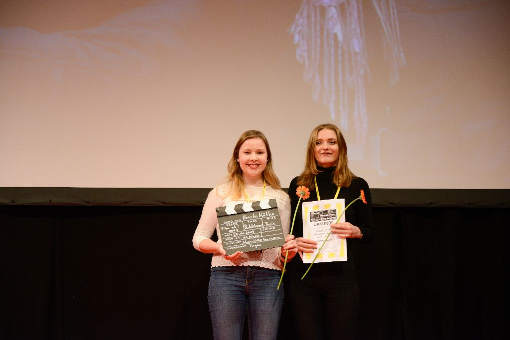 Preisträgerinnen Anny Hienzsch und Katharina Heinig